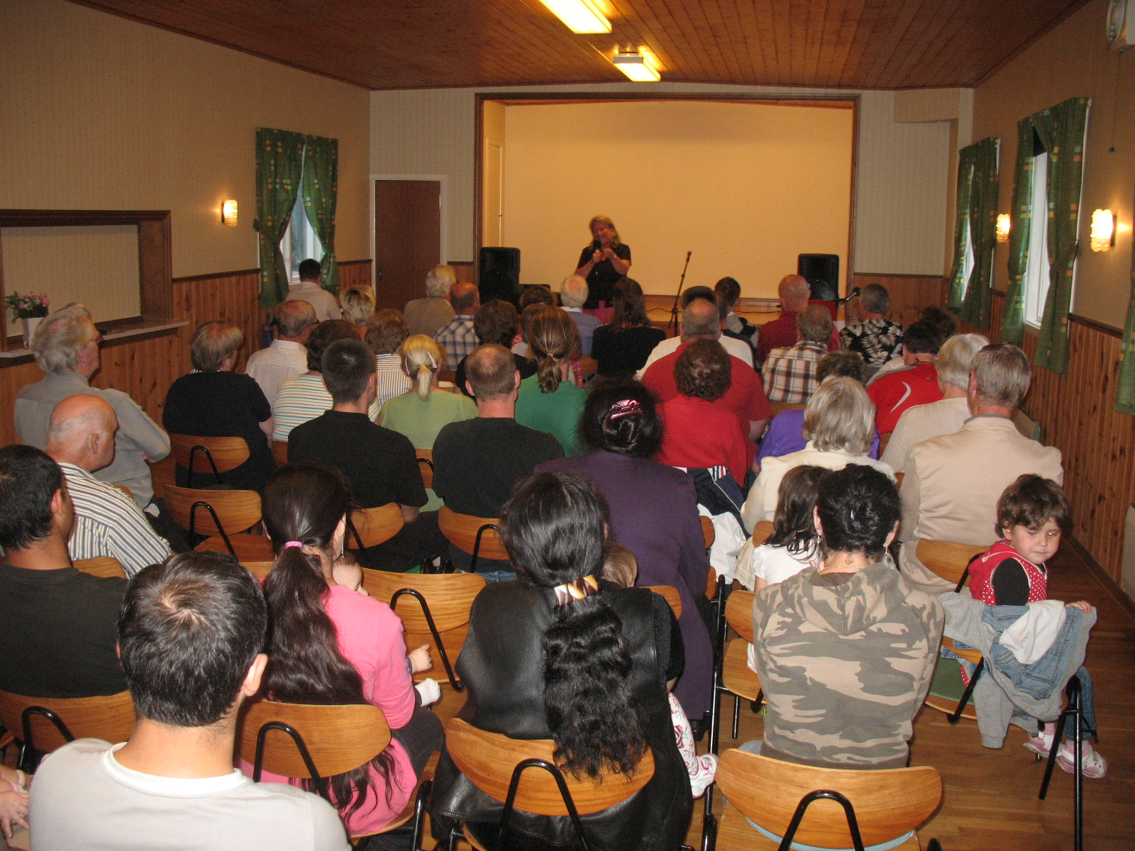 Ministering to refugees in Sweden