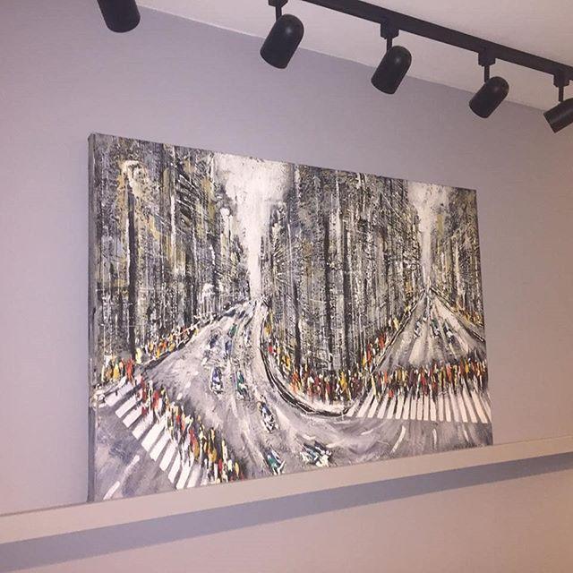 """Da Serie """"cruzamentos""""  120 x 80 cm  Acrilico sobre tela, técnica  mista.Ano 2018 ..no seu local #sergioestebanartista #artoftheday #gallery #paint #painting #instaart #creative #artwork #art #artist #inspiration #artgallery #artislife #arte #arteempernambuco #argentinosporelmundo #invistaemarte #encomenda #arquitetos #arquiteturapernanbucana  #cruzamentos#artecontemporanea #joaopessoa"""