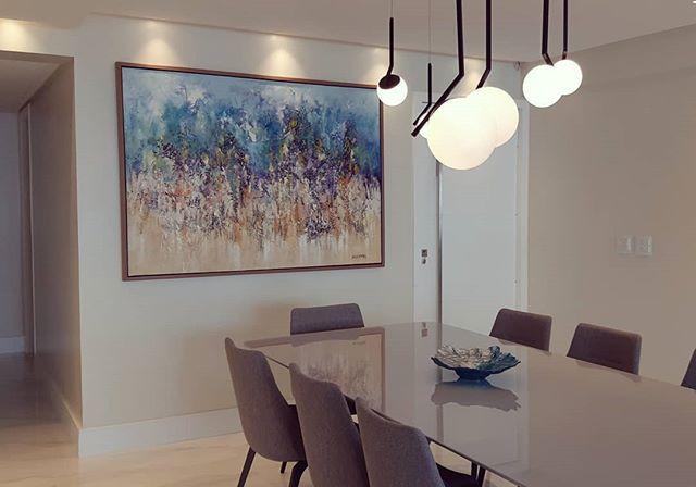 Armonia no ambiente :Experiências Abstratas 2 - Série A Origem do Cosmos | Acrílico sobre tela, técnica mista, 2019. Medindo 1.60x1.15m - #sergioestebanartista #artoftheday #gallery #paint #painting #instaart #creative #artwork #art #artist #inspiration #artgallery #artislife #arte #arteempernambuco #argentinosporelmundo #invistaemarte #abstract #abstractexpressionism #cosmos #galaxy #abstrato #universe #arquitetura #arquitetos #arquiteturapernanbucana