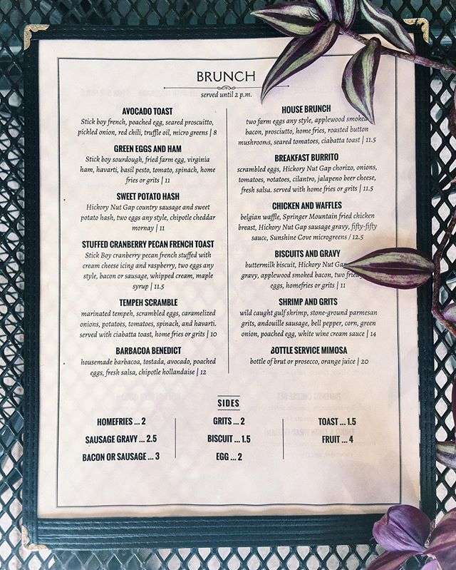 Last weeks brunch was hot! If you missed it then come see what we've got tomorrow. Serving brunch from open until 2, or while it lasts 😉 #basilspasta #828isgreat #boonenc #appstate #basilsbrunch #food #foodie #exploreboone #blueridgemountains #northcarolinaliving #booneview #boonebrunch