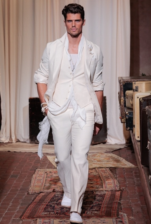 JOESPHN ABBOUD MEN'S FASHION WEEK