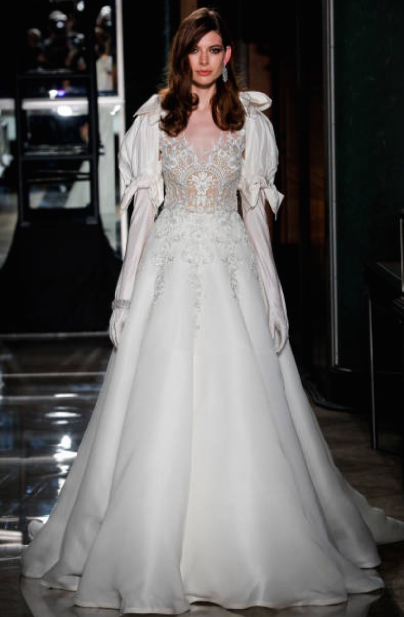 TIFFANY&CO REEM ACRA BRIDAL FASHION WEEK 2018