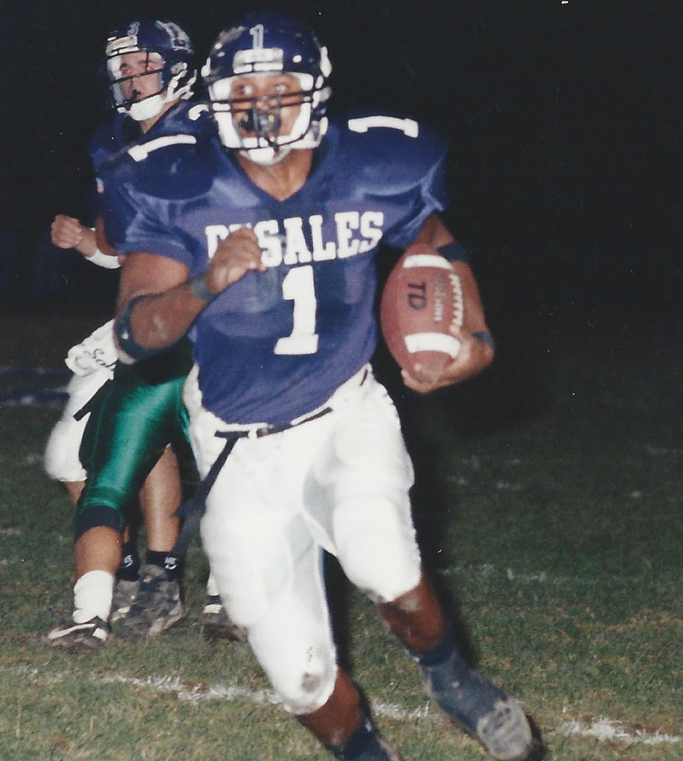 Gary Berry (1)led the Stallions with 1055 rushing yards and 17 touchdowns, despite missing the first two games with an ankle injury