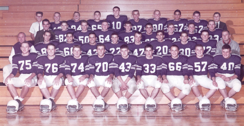 St. Francis DeSales' first Varsity Football Team (1962)