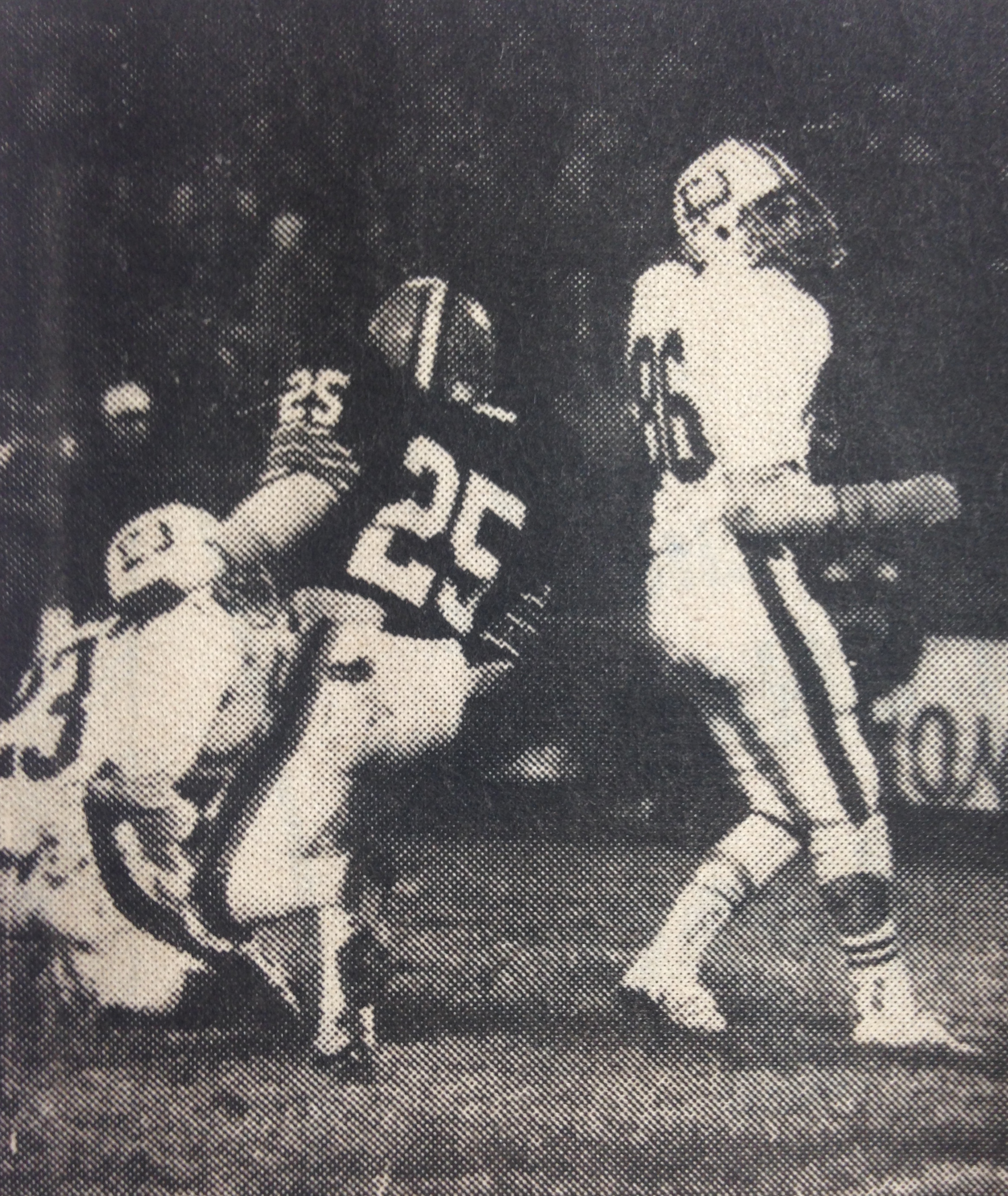 Shawn Ream (86) added a 28-yard field goal for the Stallions