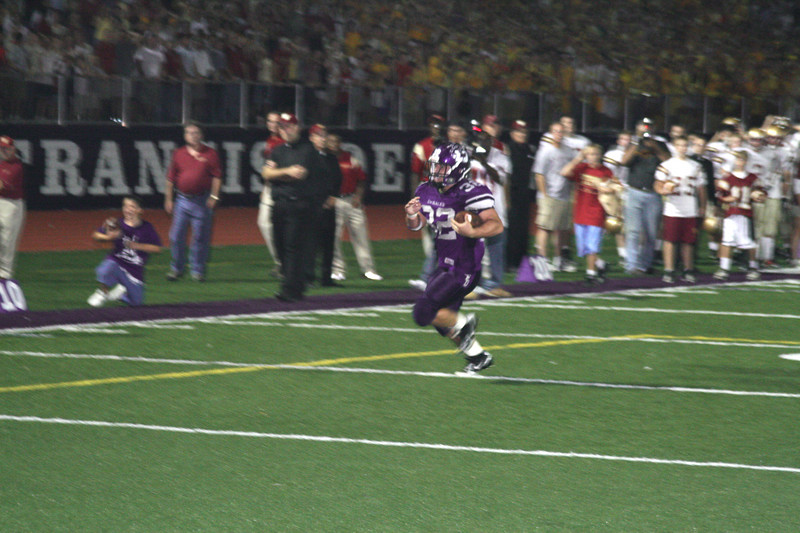 Jeff Walsh's 34-yard touchdown run ended up being the difference (photo credit - Manny Pace)