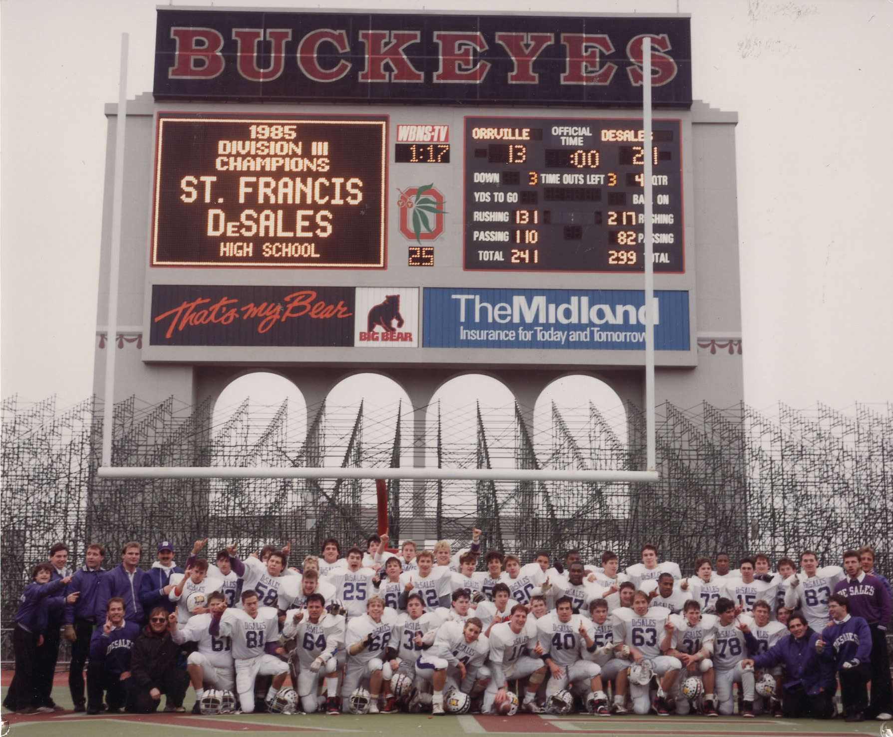 1985 Division-III State Champions