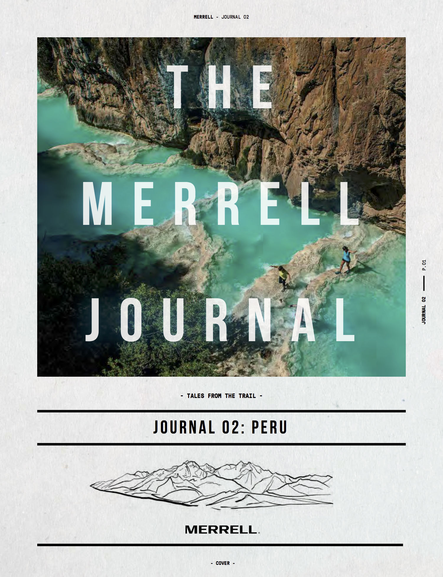 50-Page print journal,  full version here . Released Summer 2018 for Merrell. Editorial brand campaign.