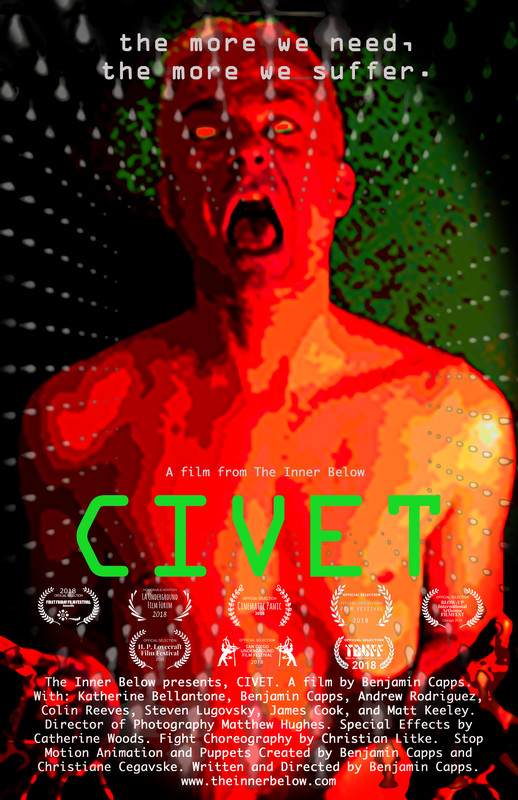 BEST SCI-FI SHORT:   CIVET
