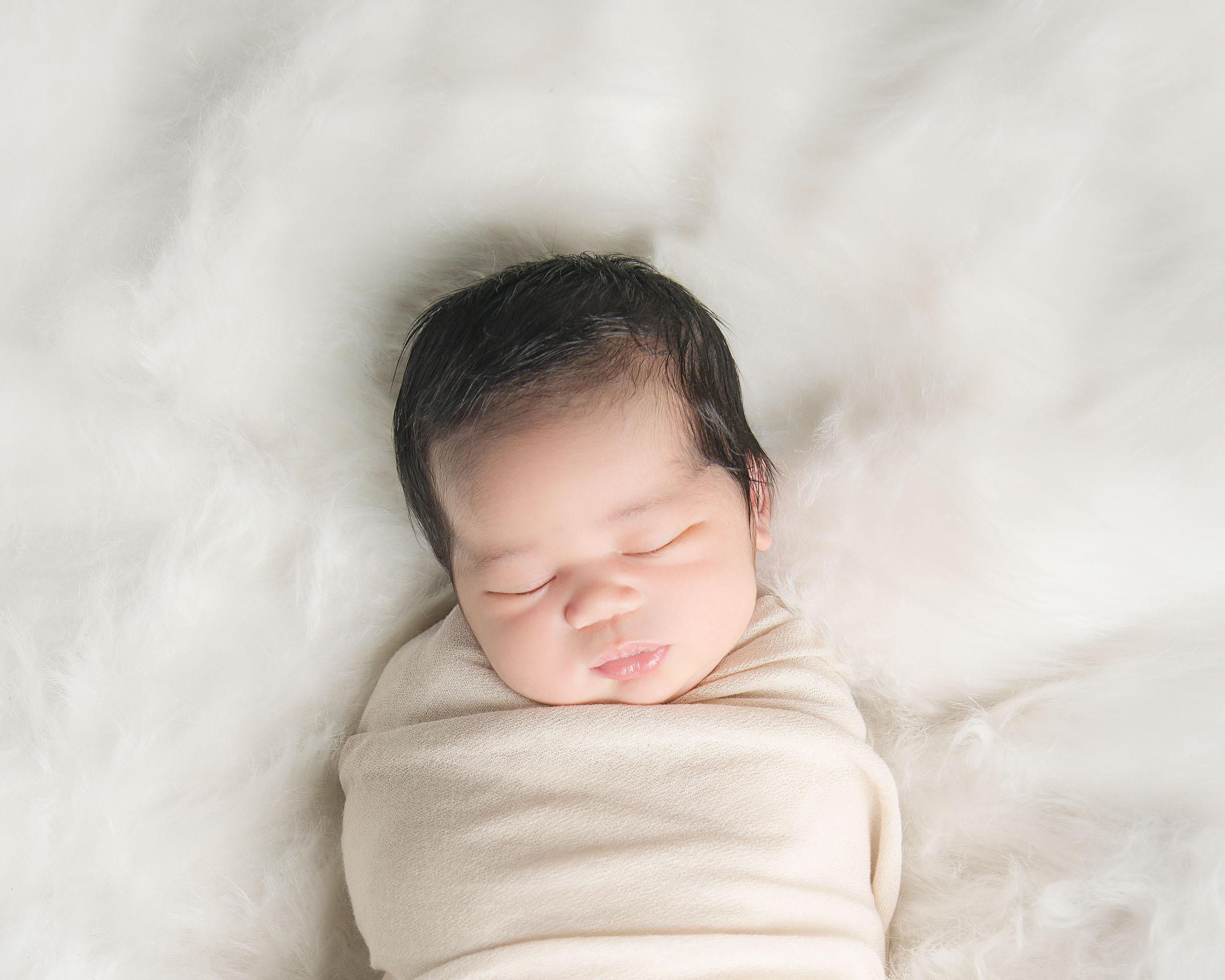 Copy of Newborn Sasha Portrait - EP Photography