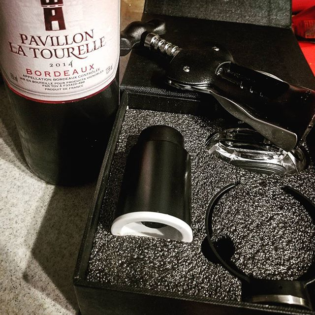 @abetheambassador  Tools to open the wine #always #wino  #vino #fancyrose #thatshowiroll #wastedwednesday #wineclub