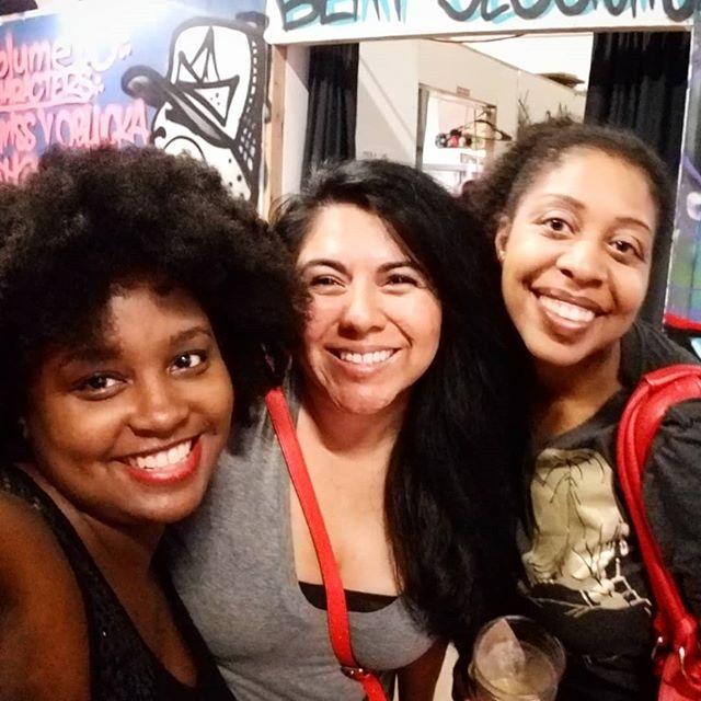 Great nite at the #spokesmancoffee with all 3 Ericas. . . . #ericka #erika #erica #erica3ways #beatsessions
