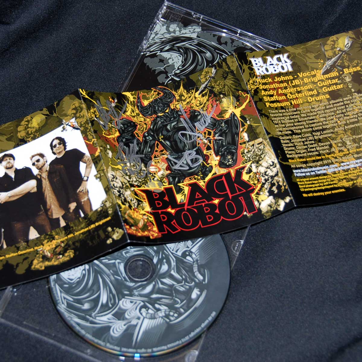 Band CD Packaging