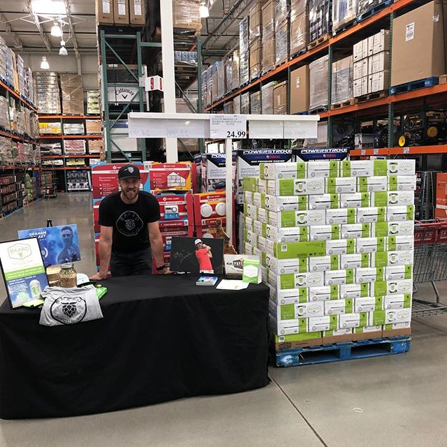 Prairie Baard is now live at Costco in Boise. Come on down and say hi today and tomorrow. #Baard #BlueCollar @payettebrewing