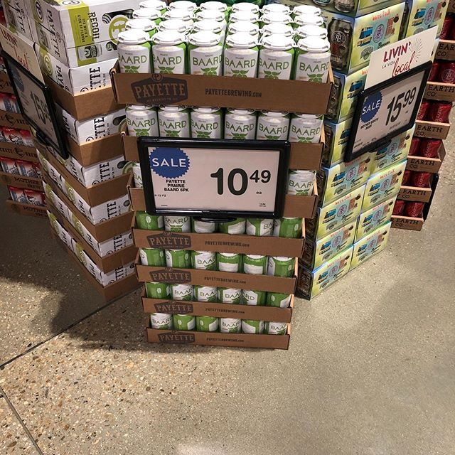 You can now find us at the new Albertsons on Eagle and Fairview! #Baard #BlueCollarCraft