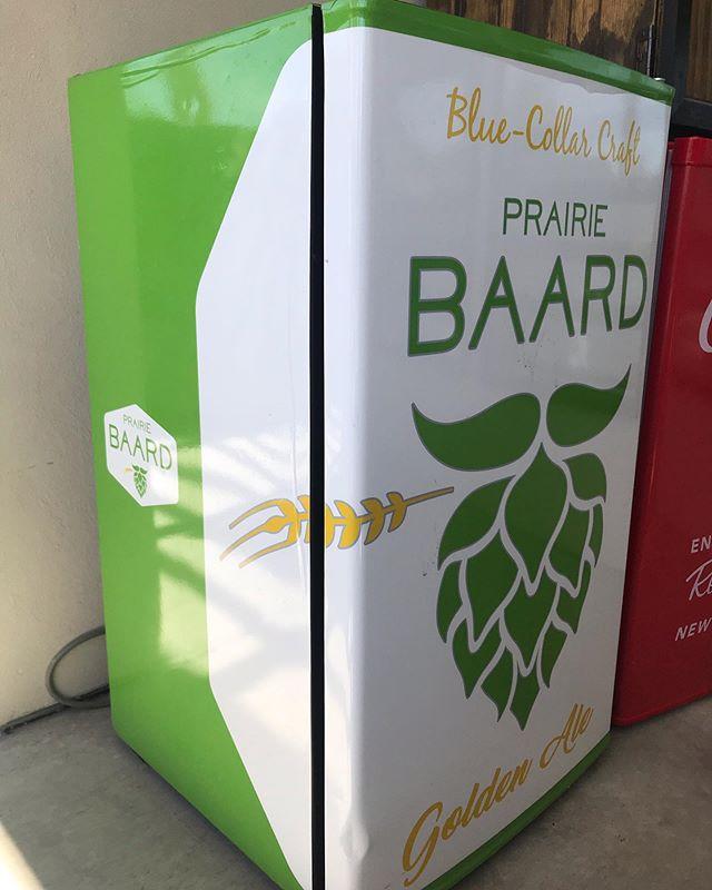 How do you stock your beer fridge? #Baard #BlueCollarCraft #GoldenAle