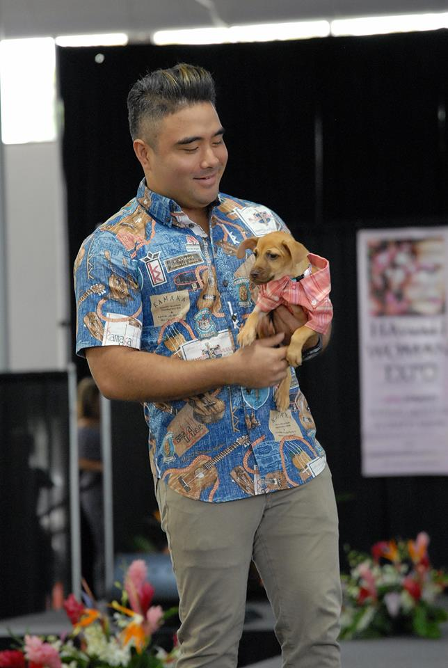 Celebrities and Their Pets Fashion Show