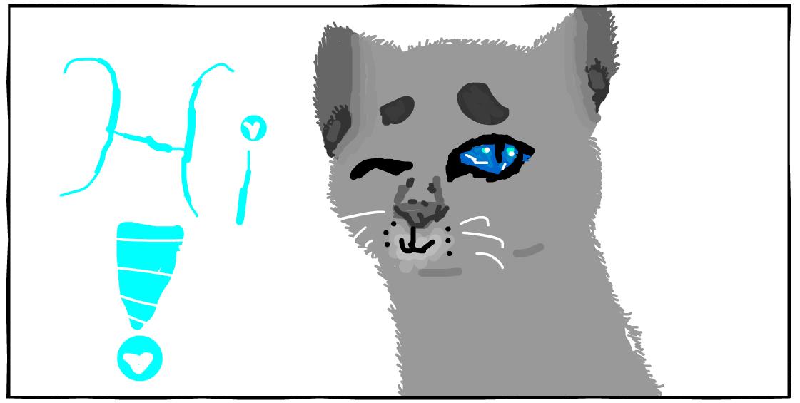Kitten by Aelinee