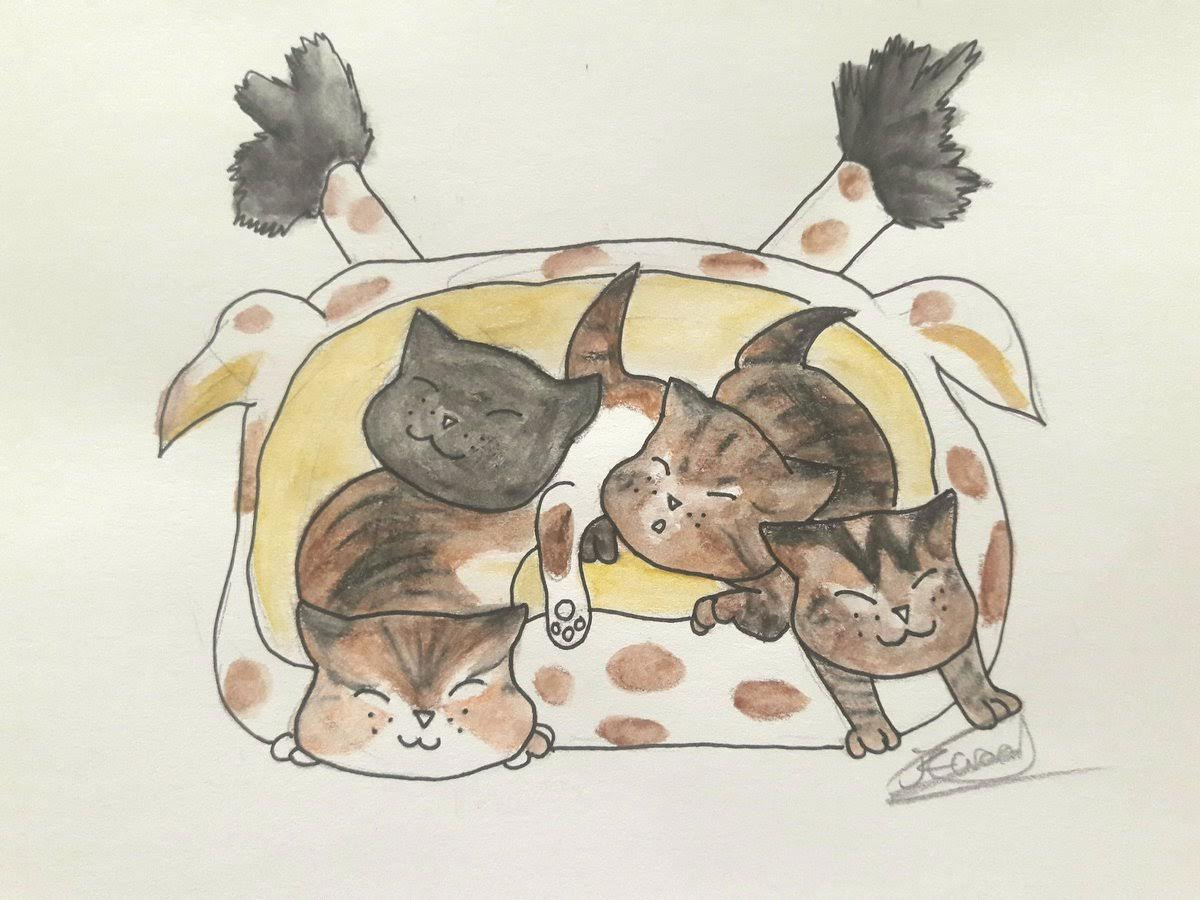 The Baftime Kittens by Motherforcats