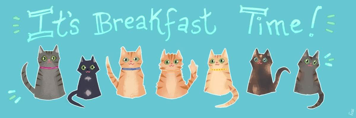 Breakfast Kittens by SpectralFusion