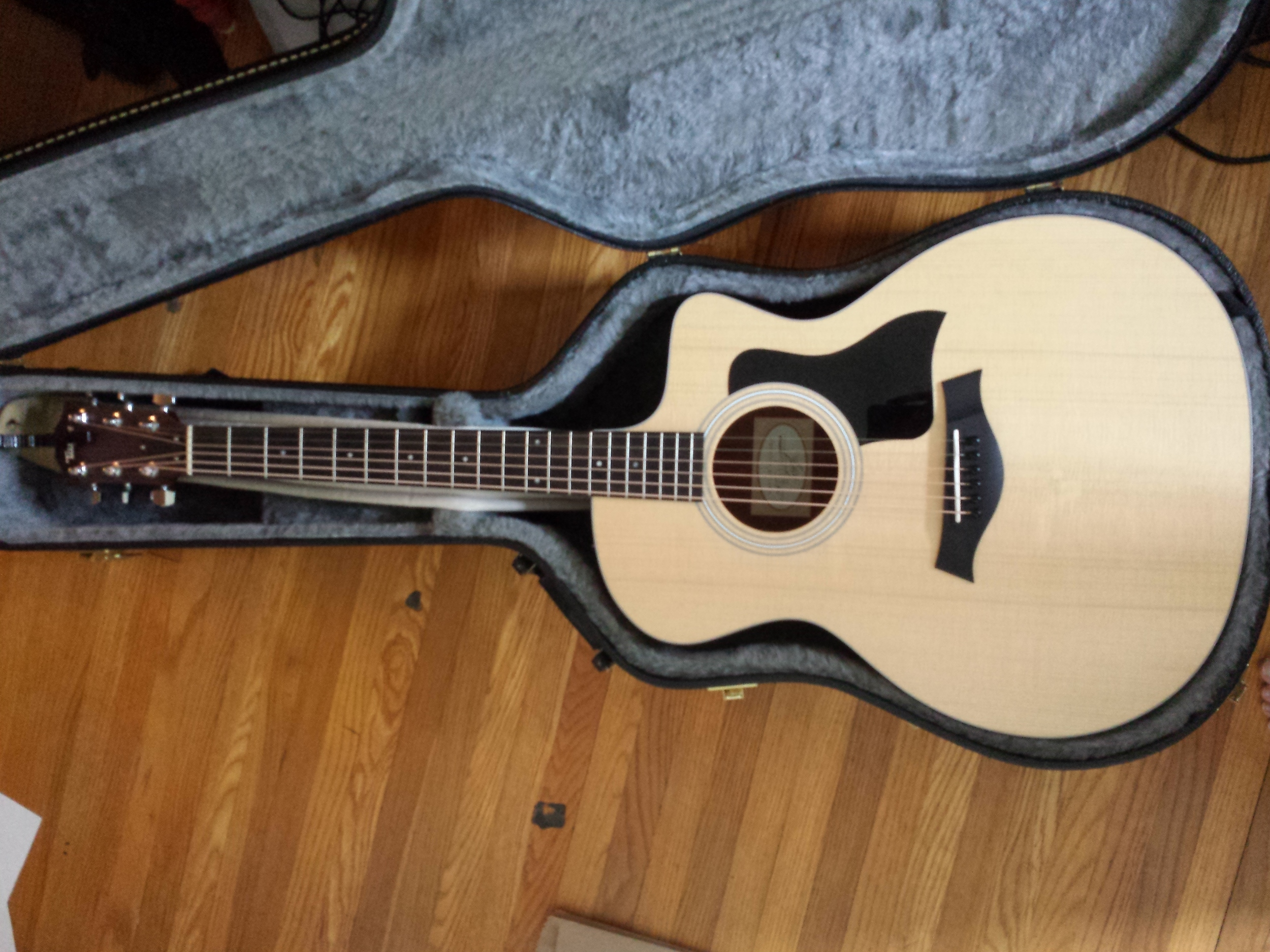 New guitar bb. A Taylor model.