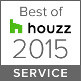 Houzz Best Service Winner 2015