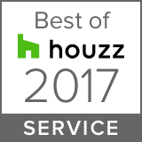 Houzz Best Service Winner 2017