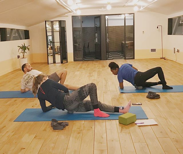 Self-Myofascial Release (SMR) w/ @moveyourstory every Thursday 4:30pm and 5pm at @wework Manhattan Laundry at 1342 Florida ave. NW Washington, DC. Register in bio.