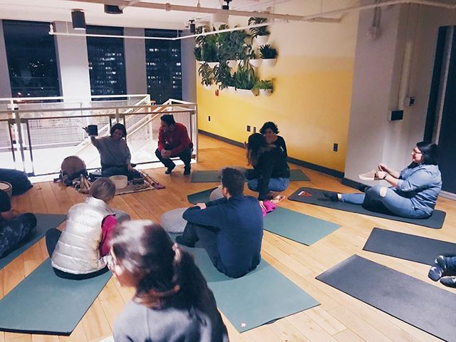Last Thursday we got to dream together to the guidance of a flute, balancing vibrations of crystal bowls and meditative rhythm of Tibetan drum guided by @antleralchemy.  #wearepraktika #socialwellness #welivecrystalcity #soundimmersion