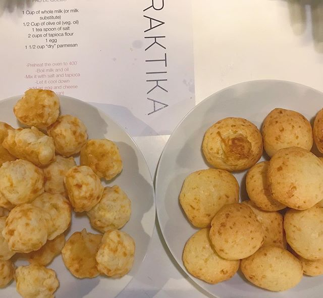 Community that bakes together, laughs together. This time at @WeLive Crystal City we learnt how to make Pao de Queijo (Brazilian cheese bread). It's naturally gluten free and perfect complement to your coffee. #wearepraktika #wellness