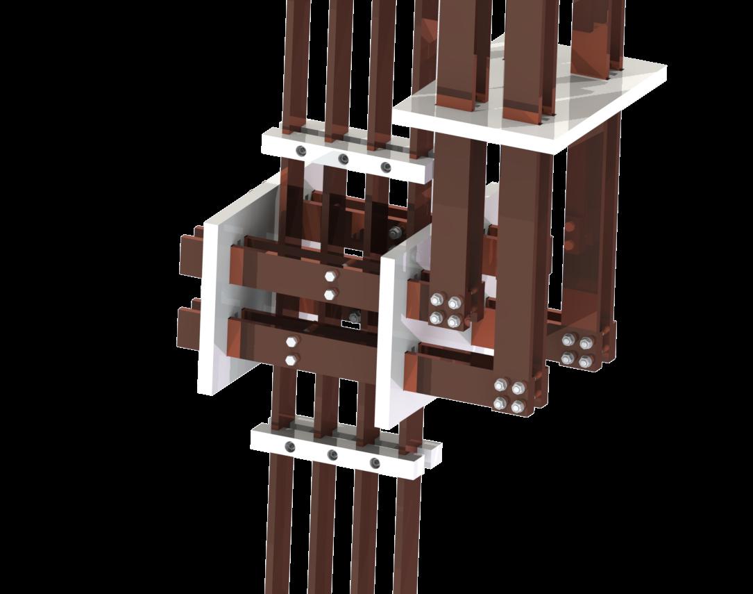 Switchboard busbar insulation