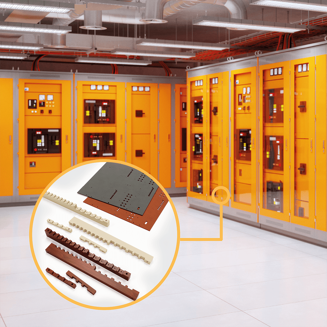Switchboard Insulation - Composite materials and plastics