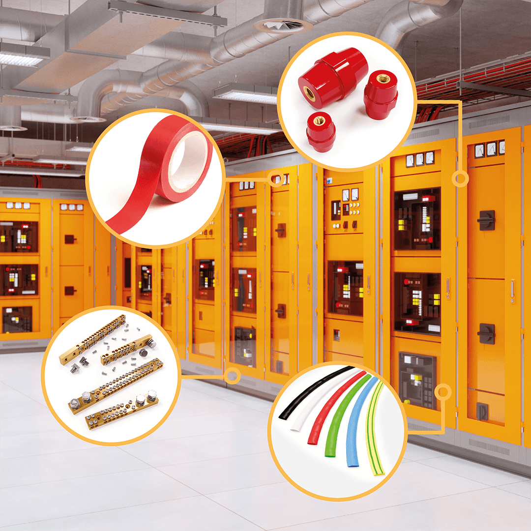 Switchboard AccessOries - Insulators, links, tapes and more