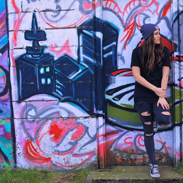Dear math, stop asking me to find your X, he's not coming back 🤪 📸 @katie_stanton_ - - - - - - - #vancity #jackandjones #neff #rippedjeans #singer #songwriter #converse #graffiti #alternative #indie #electronic #music #yvr #yxe #thinking #ableton #protools #chilling