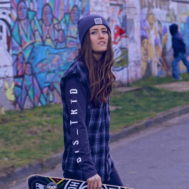 "📸@katie_stanton_ ""And if you're still breathing, you're the lucky ones 'Cause most of us are heaving through corrupted lungs"" - Daughter 🎼 - - - - - #skateboarding #indie #alternative #singer #songwriter #musicproducer #tropicalhouse #indiemusic #alternativemusic #yvr #vancouver #element #plaid #neff #graffitiwalls #mural #art #brunette #summervibes #summermusic #sunnytunes"