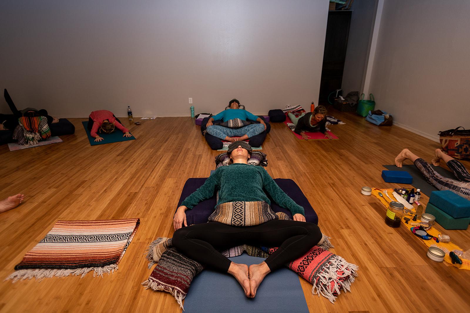 Photos: 5 Elements Yin Yoga Teacher Training - Sedona, Arizona, September 13-19, 2019  Captured by: @katemichelleyosemite