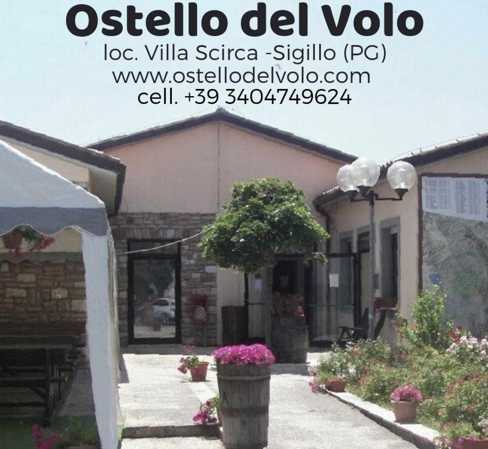 OSTELLO DEL VOLO - Loc. Villa Scirca - SIGILLO (Pg)Tel. +39 340.4749624www.ostellodelvolo.com - info@ostellodelvolo.com