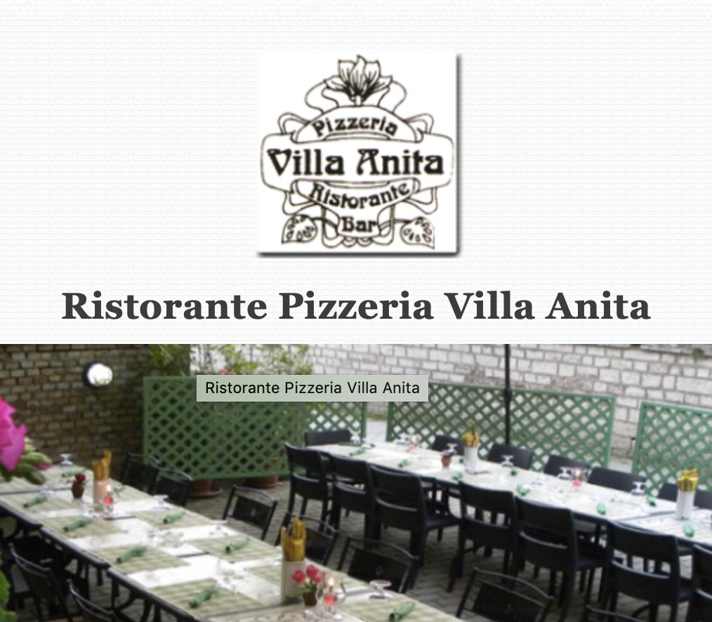 RISTORANTE PIZZERIA VILLA ANITA - Via Matteotti, 52 - SIGILLO (Pg)Tel. +39 075.917904www.villaanita.eu - ristorantevillaanita@gmail.com