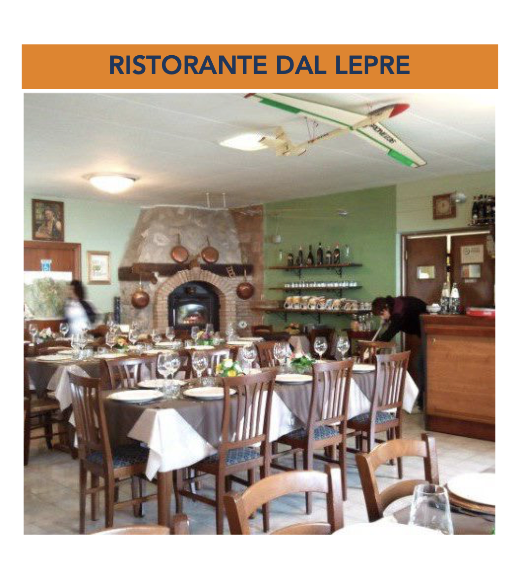 RISTORANTE DAL LEPRE - Loc. Pian del Monte - 06028 SIGILLO (Pg)Tel. +39 338.1863355Facebook f.lepri1971@tiscali.it