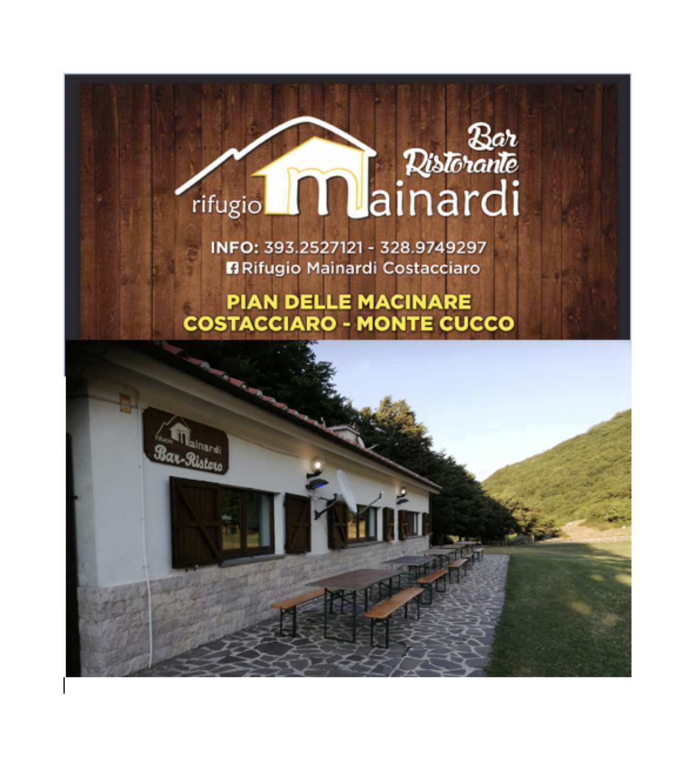 RIFUGIO MAINARDI - Monte Cucco - 06021 COSTACCIARO (Pg)Tel. +39 393.2527121Facebook