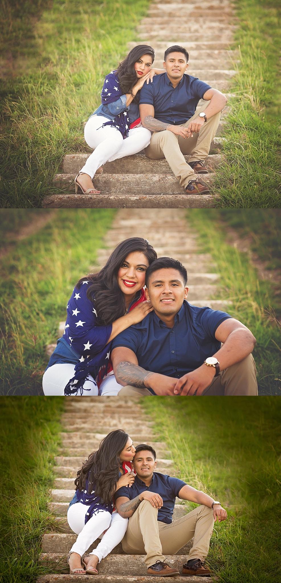 Patriotic family houston texas