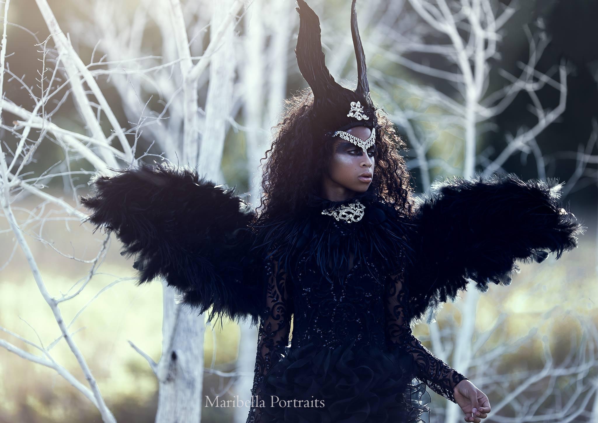 The Dark Angel | Model Kendnal Mikale