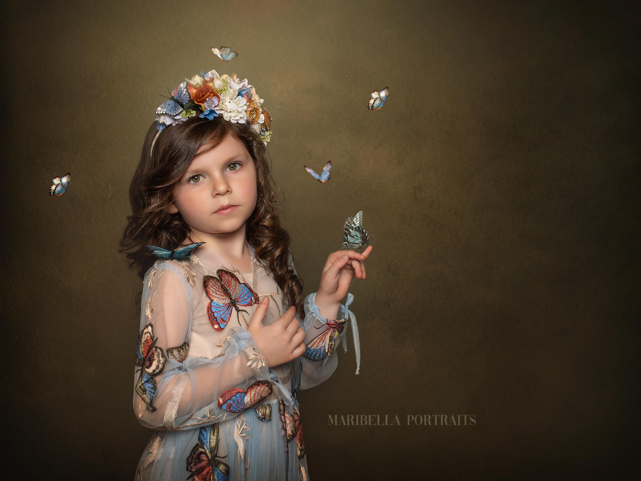 butterfly photoshoot ideas