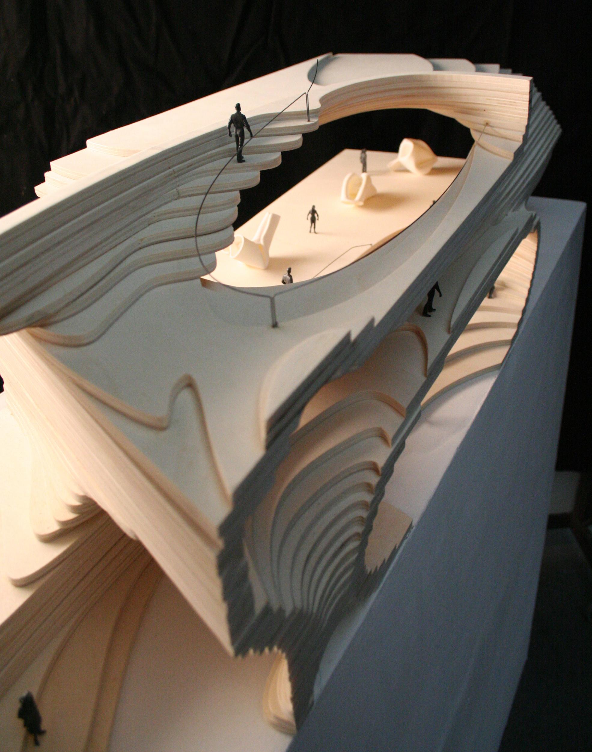 Interior Model. Scale 1:100