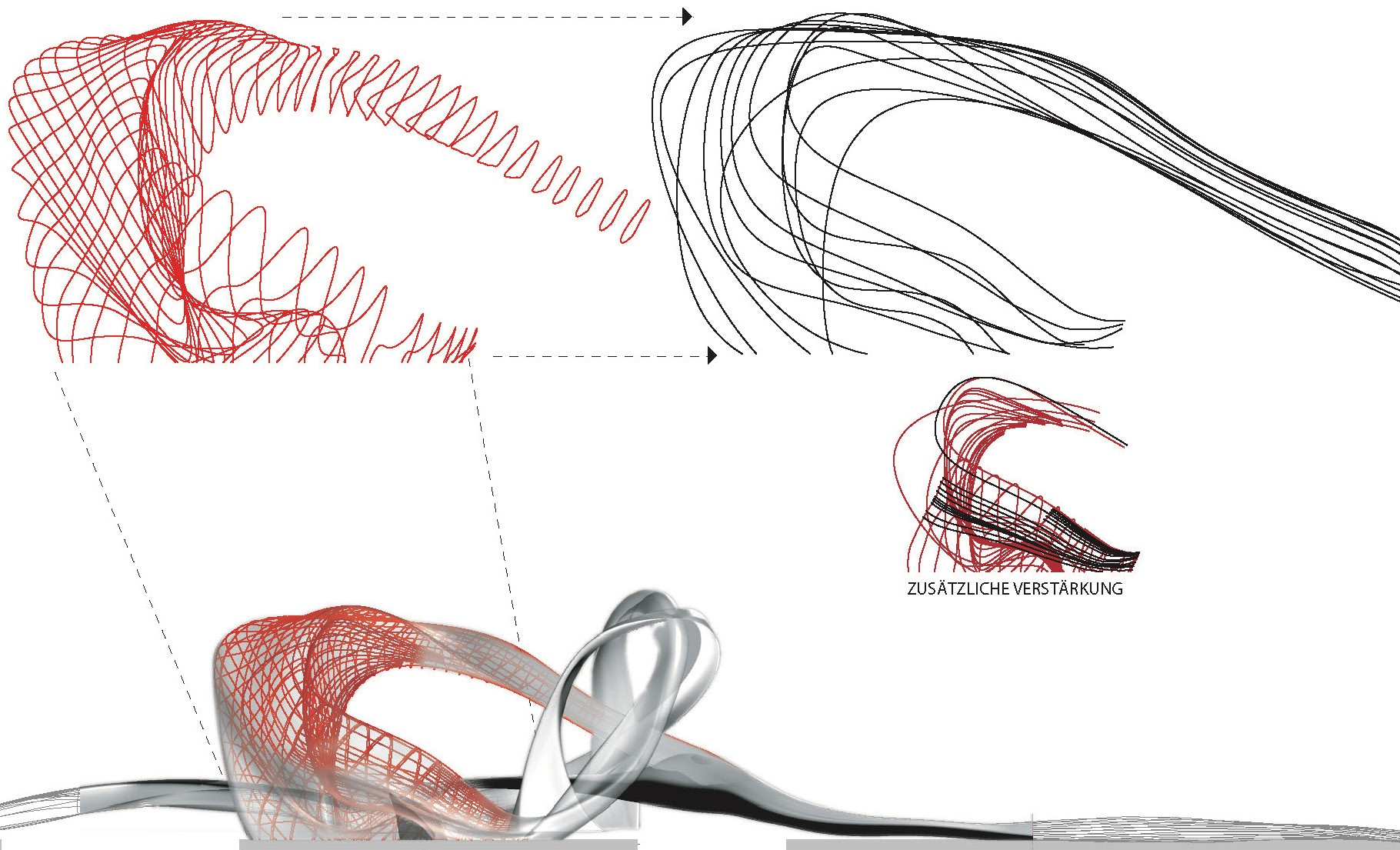 Structural wireframe