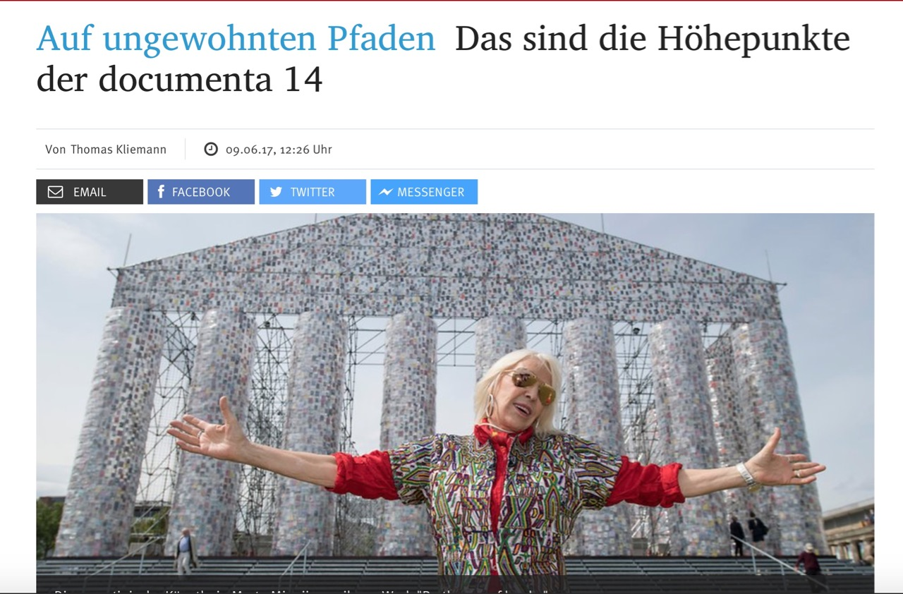 Auf ungewohnten Pfaden: Das sind die Höhepunkte der documenta 14