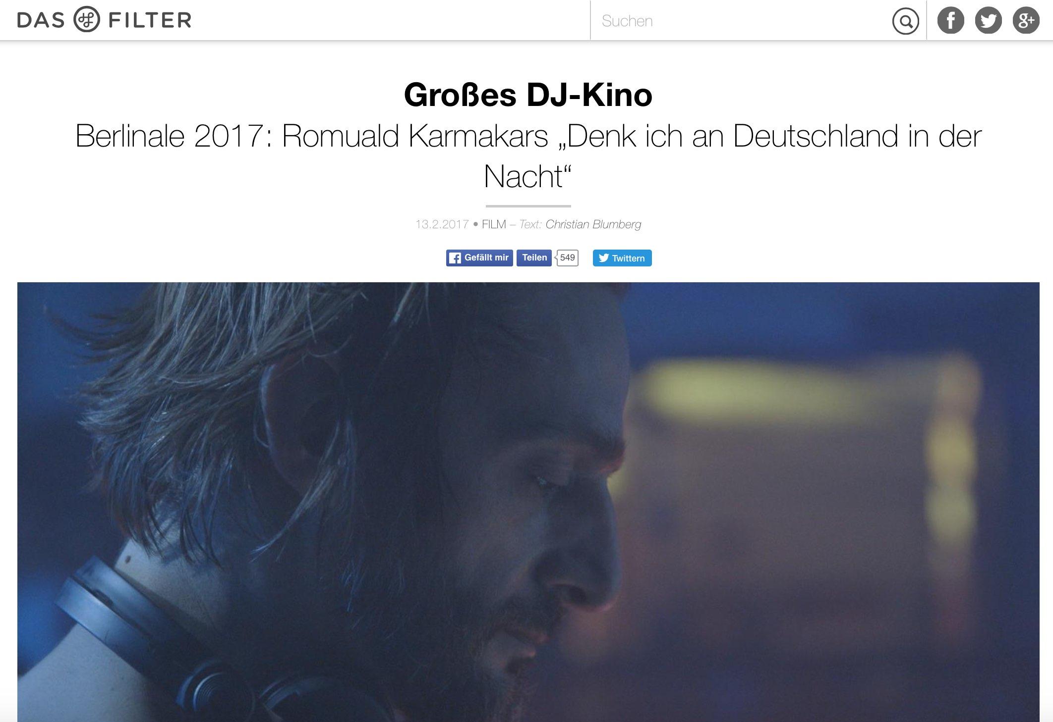 Copy of Großes DJ-Kino