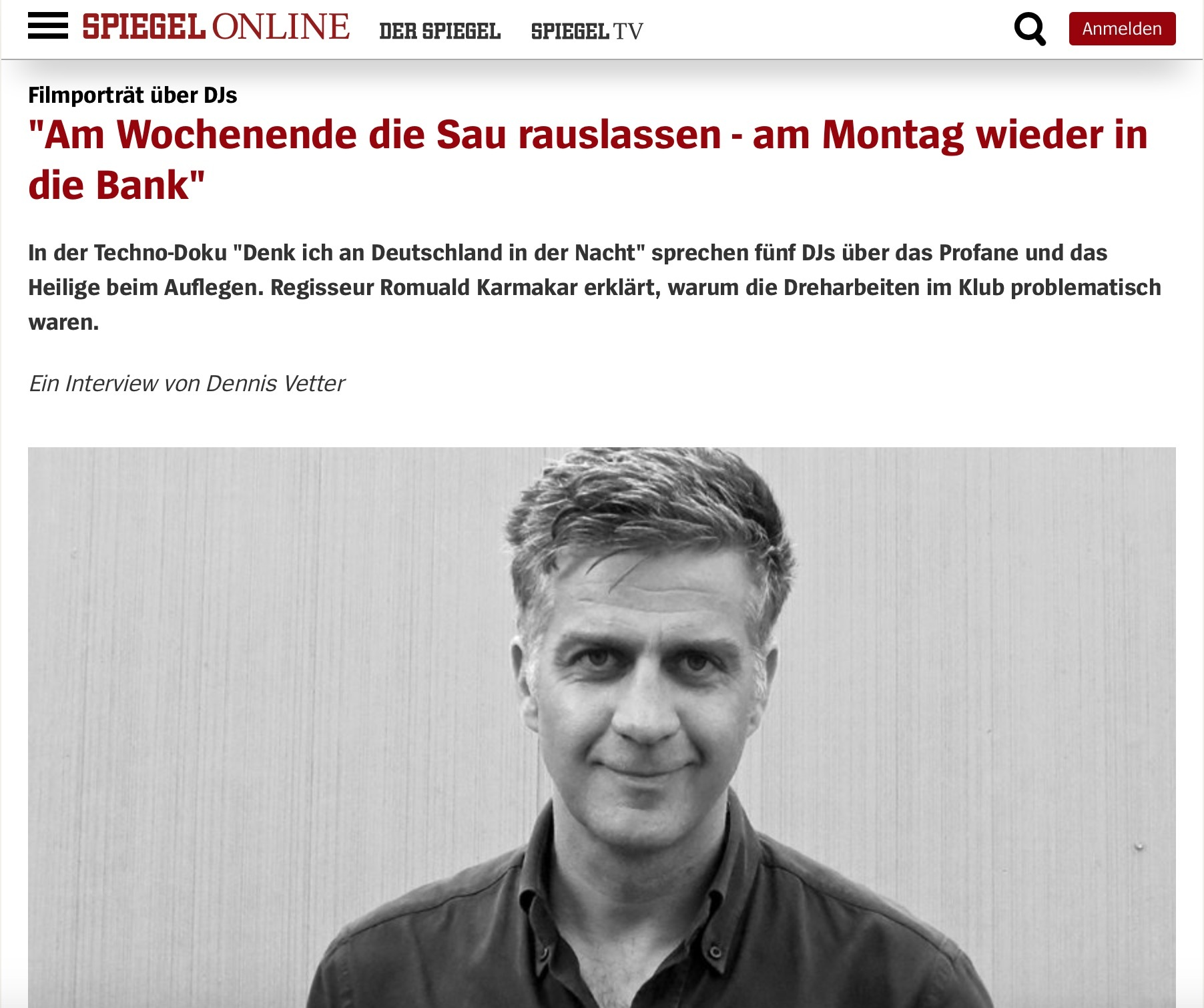 """""""Am Wochenende die Sau rauslassen - am Montag wieder in die Bank"""""""