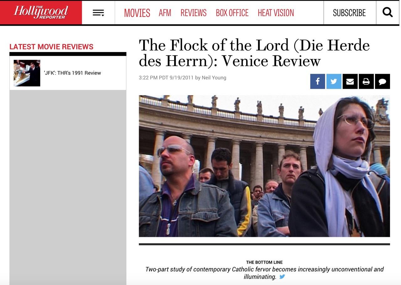 THE FLOCK OF THE LORD (DIE HERDE DES HERRN): VENICE REVIEW