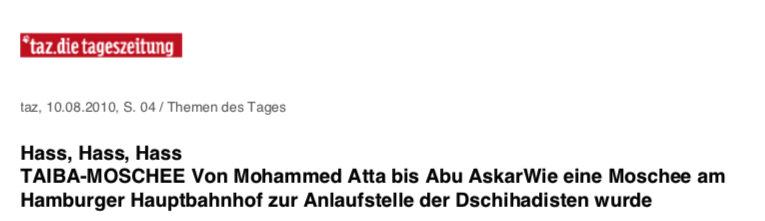 Hass, Hass, Hass